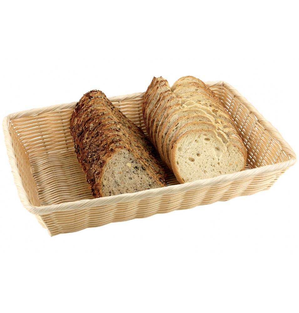 Cos dreptunghiular pentru paine, dimensiuni (Lxlxhmm):410x290x70