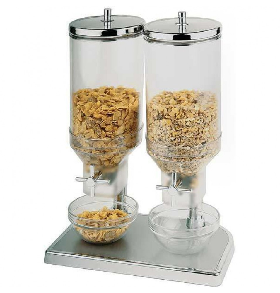 Dispenser cereale -capacitate 2x4.5 litri