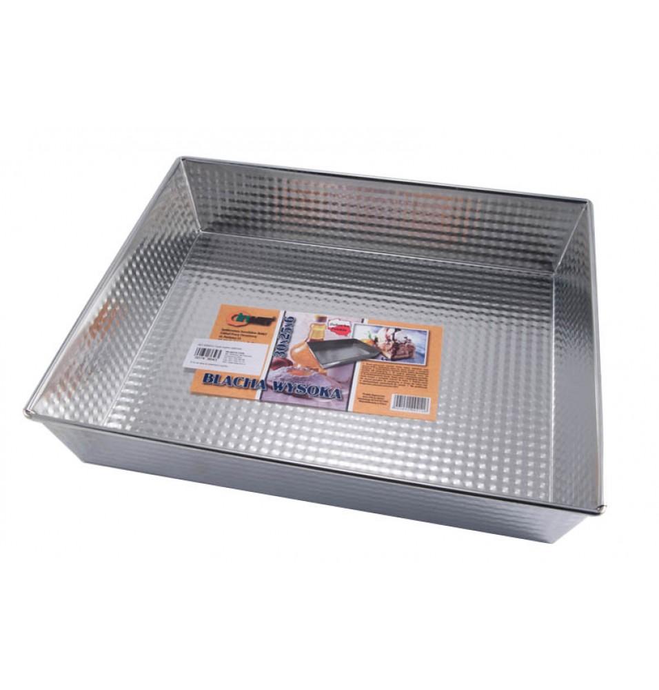 Tava cuptor aluminiu dimensiuni 300x250x60mm