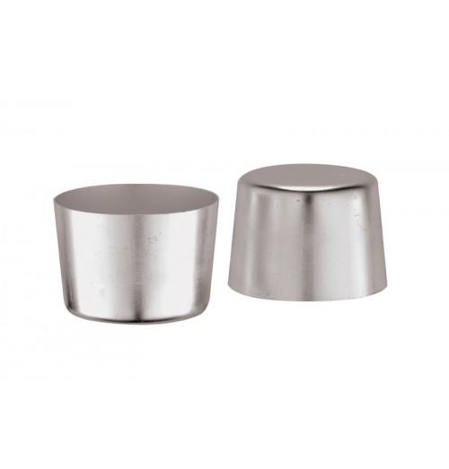 Forma pentru crema caramel, aluminiu, capacitate 170 ml, inaltime 55mm, diametru 70mm