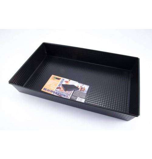 Tava cuptor, dimentiuni 40x25x6cm, negru
