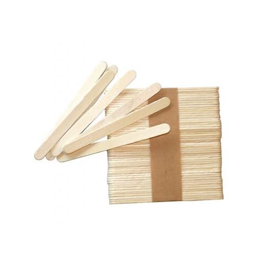 Set 500 bete pentru inghetata, lemn, lungime 72mm
