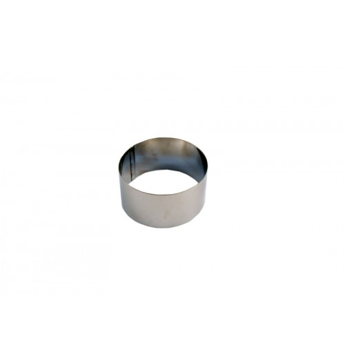 Inel, inox, diametrul 80mm, inaltime 60mm