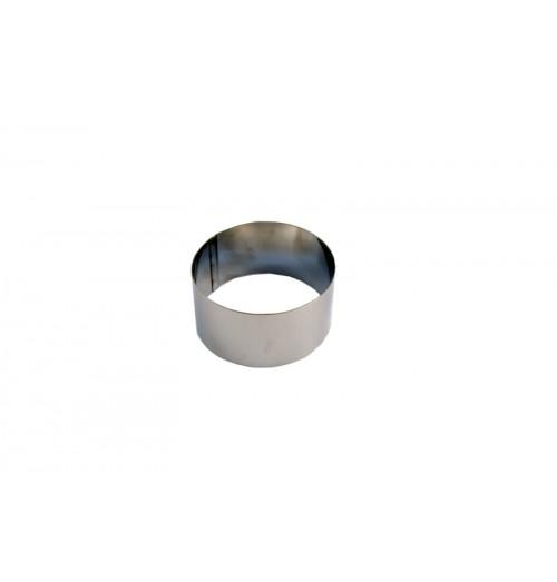Inel, inox, diametrul 90mm, inaltime 60mm