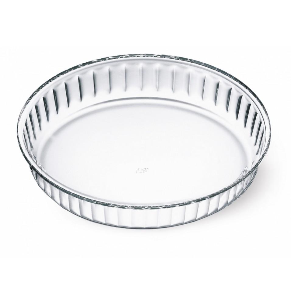 Forma tarta, sticla, termorezistenta, diametru 26cm