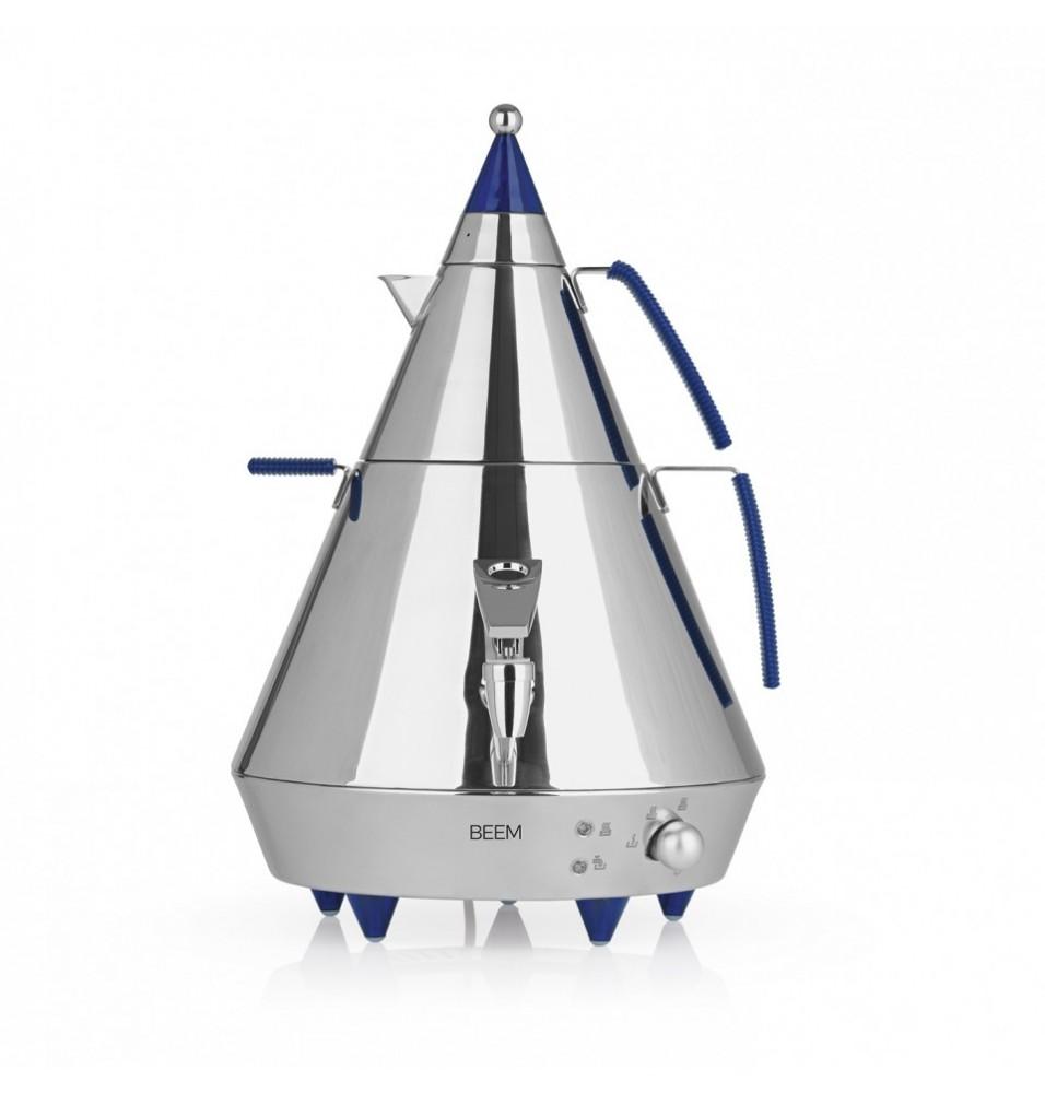 Samovar tip piramida, inox , dimensiuni 360x310x460mm, 2 elemente de incalzire de 2000W si 500W, greutate 3.05kg