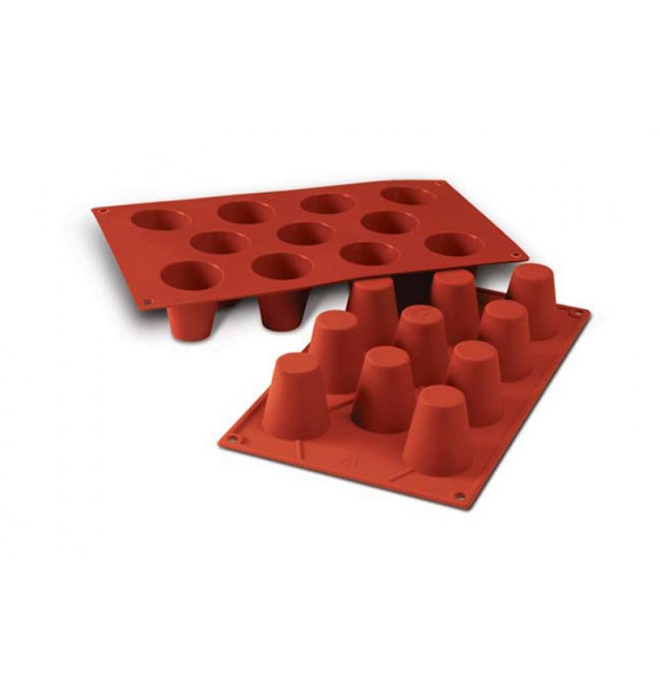 Forma, silicon, capacitate 11x50ml, diametru prajituri 45mm