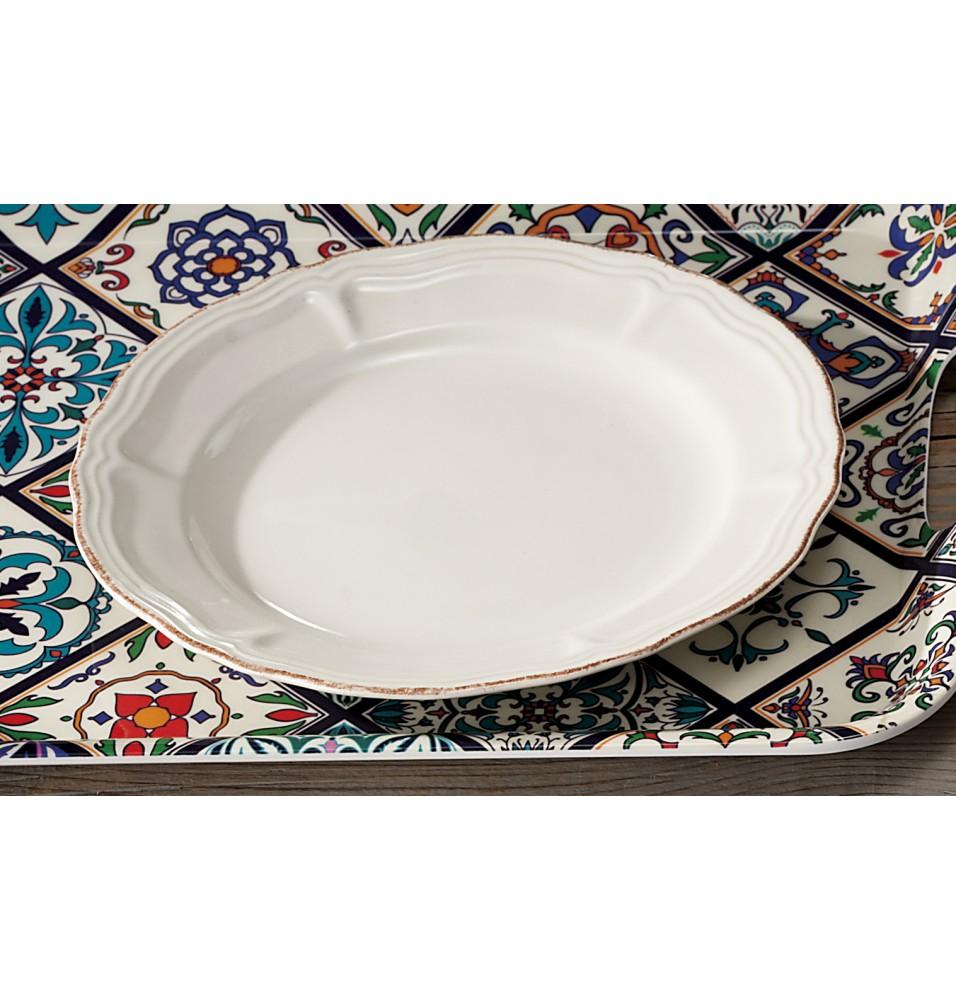 Farfurie, ceramica, diametru 215mm