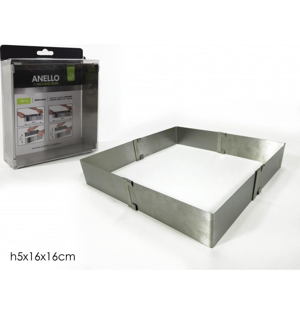 Inel rectangular 160x160x50mm