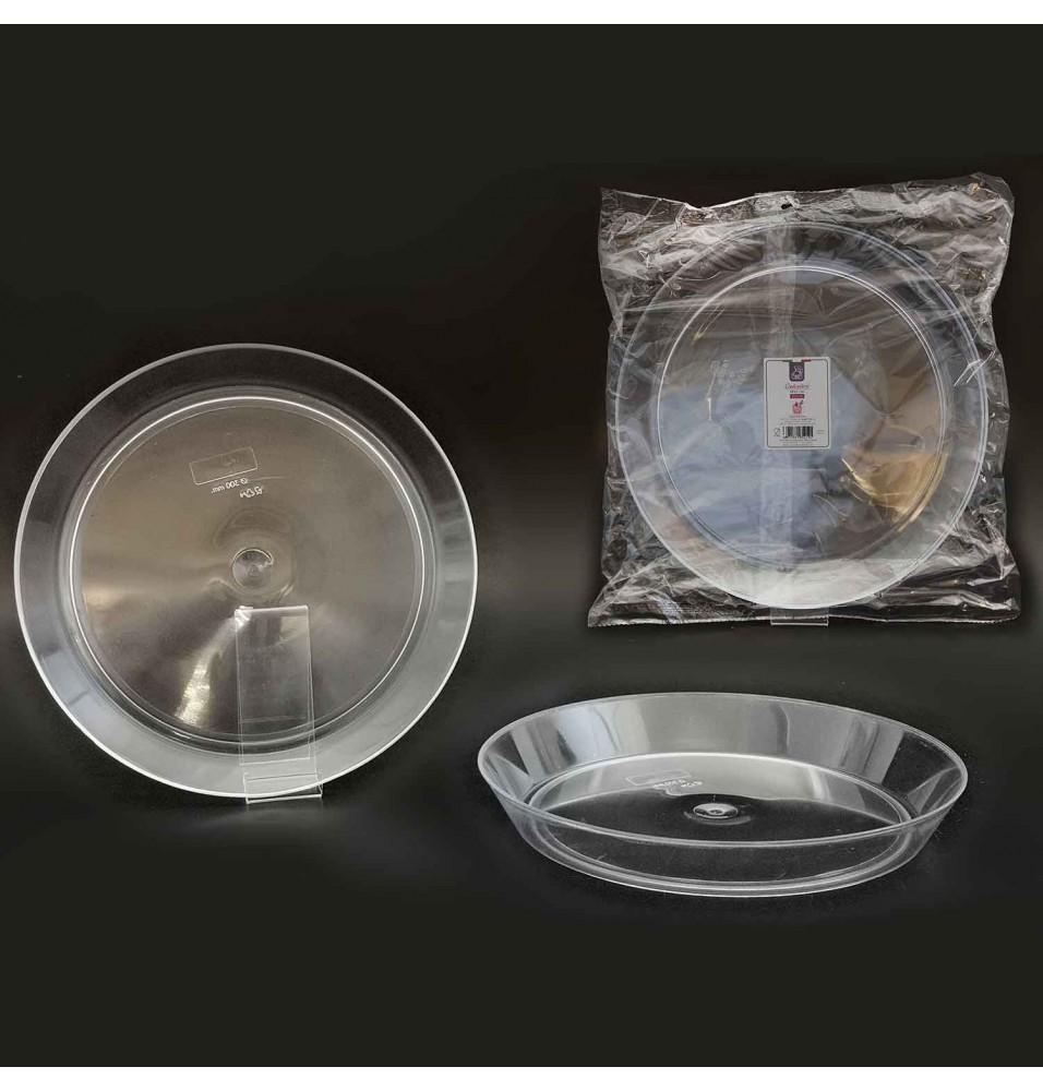 Set 2 farfurii din plastic diametru 260 mm