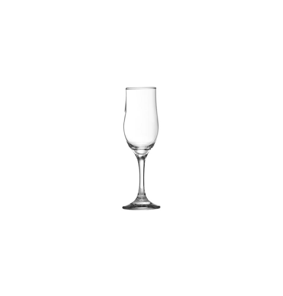 Pahar pentru sampanie, sticla, capacitate 190ml