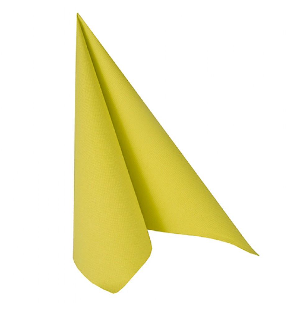 Set 50 servetele, culoare Lime Green, dimensiuni 400x400mm