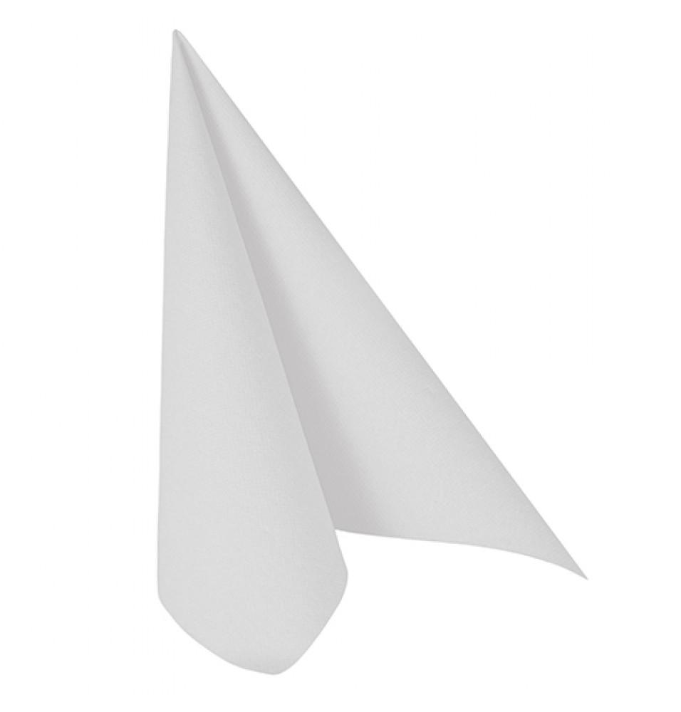 Set 50 servetele, culoare alb, dimensiuni 400x400mm