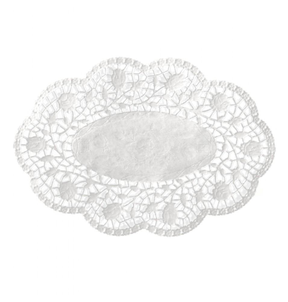 Set 500 suport pentru prajituri, culoare alb, dimensiuni 180x130mm