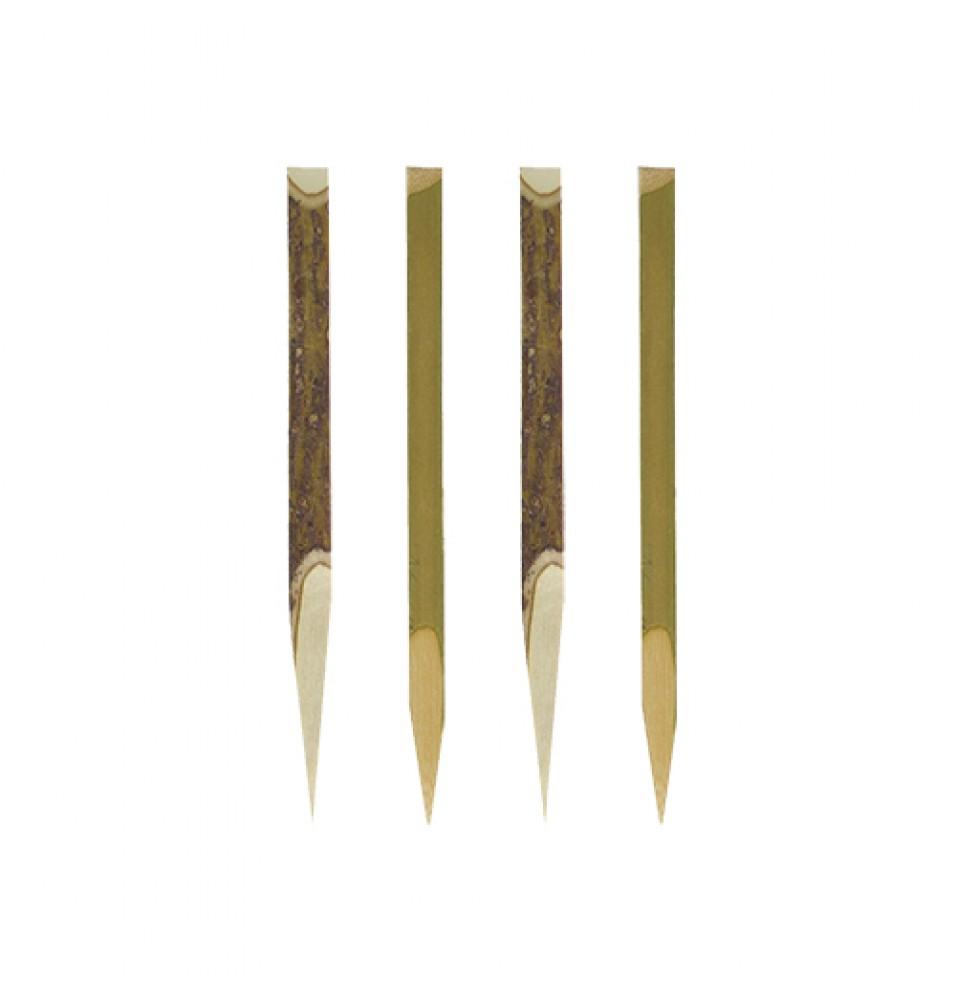 Set 200 tepuse pentru Fingerfood, din bambus, lungime 110mm
