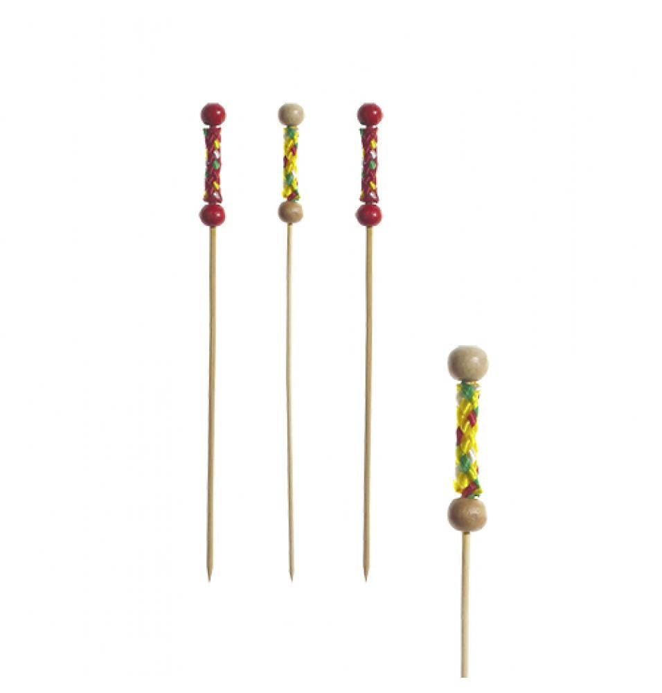 Set 250 tepuse pentru Fingerfood, din bambus, lungime 120mm