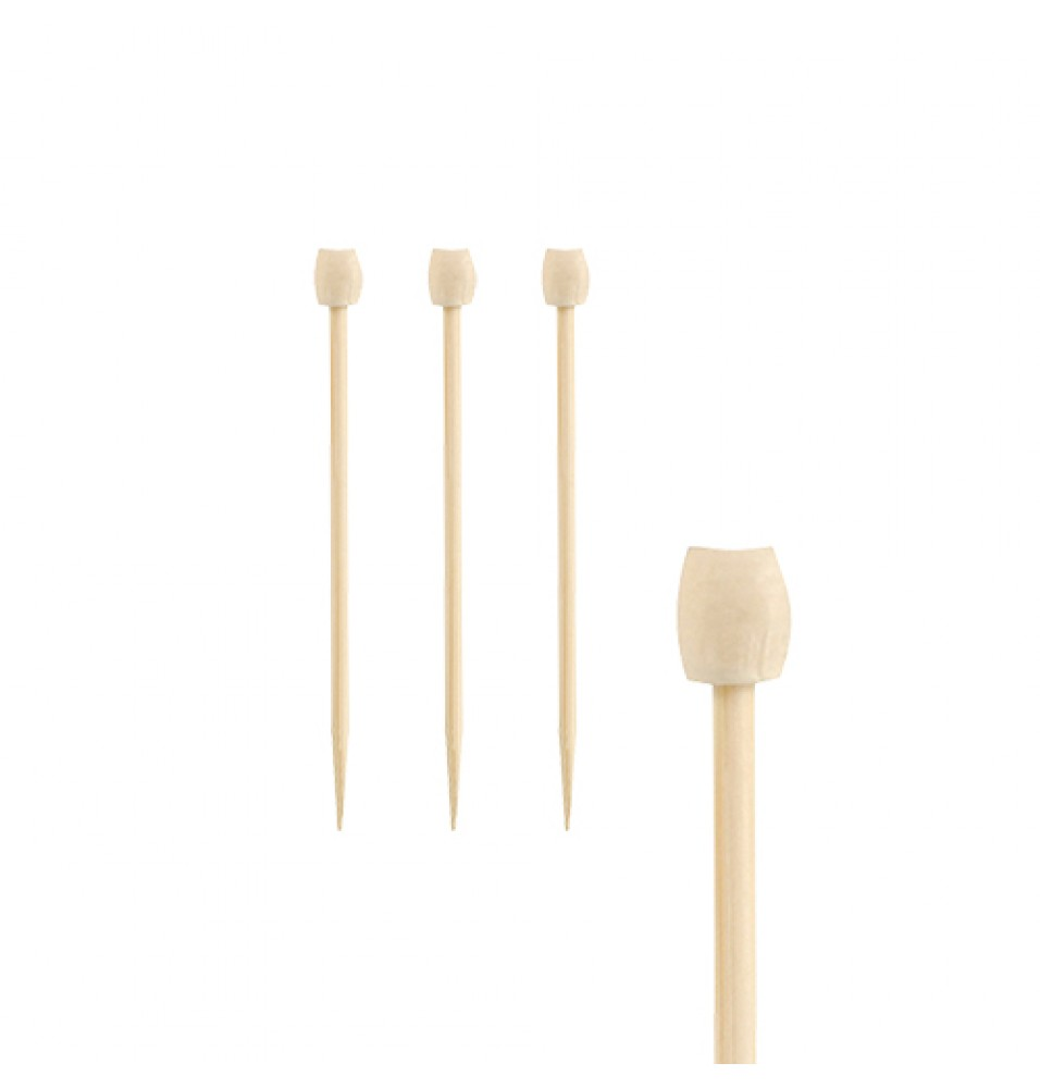 Set 100 tepuse pentru Fingerfood, din bambus