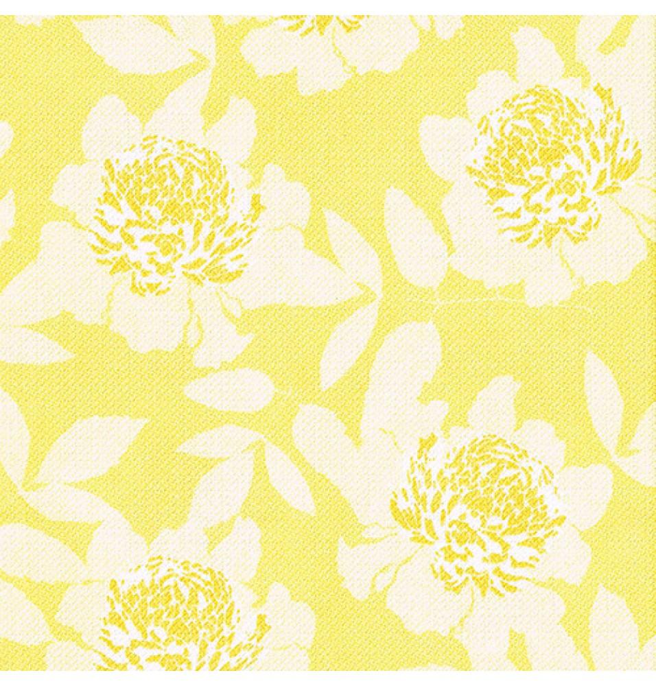 Set 50 servetele, culoare galben, dimensiuni 400x400mm