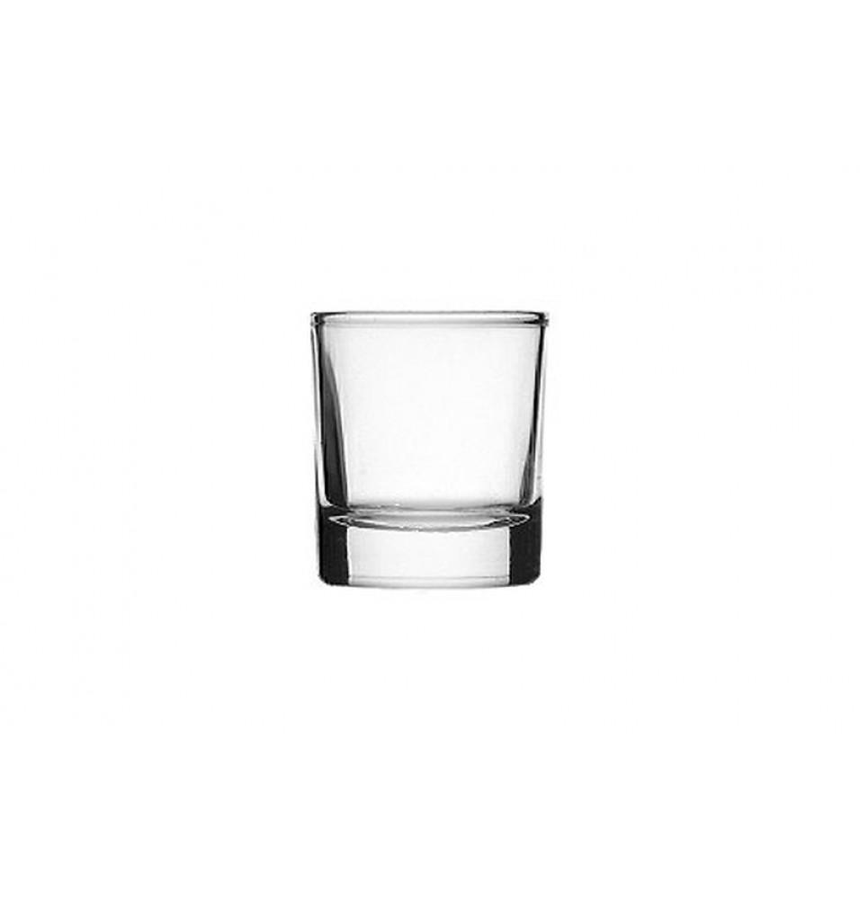 Pahar, sticla, capacitate 50 ml