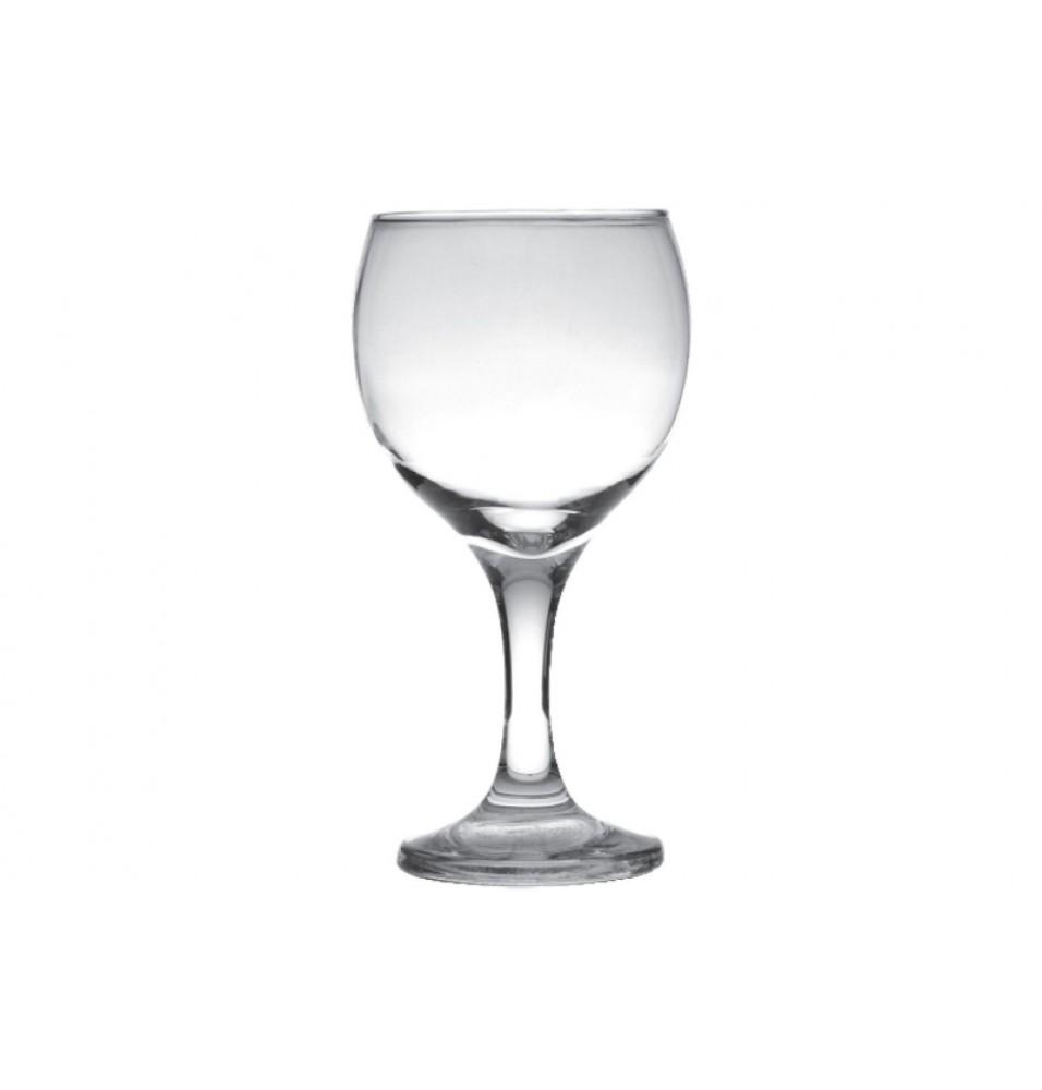 Pahar vin rosu, sticla,capacitate 210ml