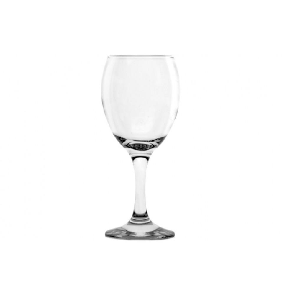 Pahar vin alb, sticla, capacitate 200ml