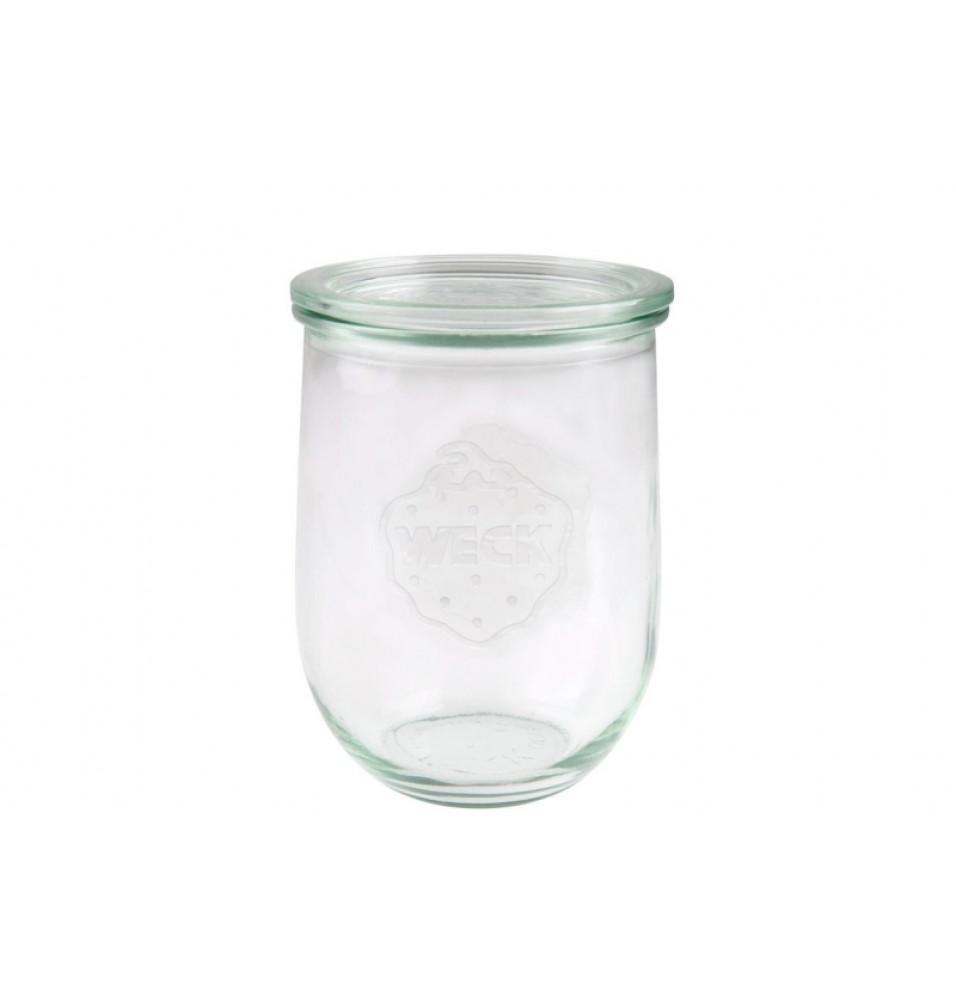 Borcan cu capac, model Tulip, din sticla, capacitate 1062ml