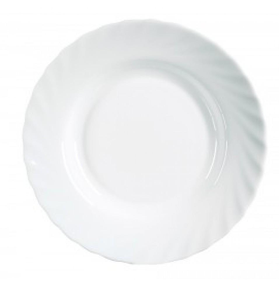 Farfurie adanca, dimensiune  35x225 mm, fabricata din opal