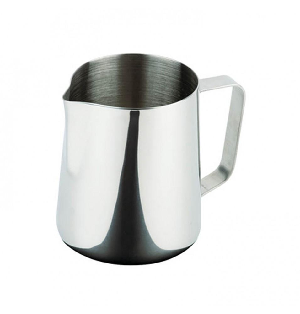 Cana pentru lapte, capacitate 0.8 litri, inox,  diametru 105mm