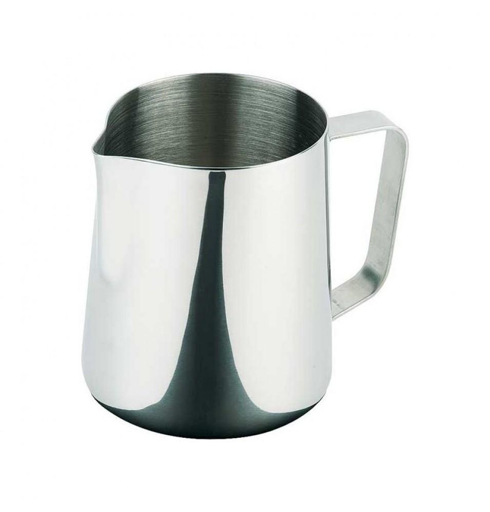Cana pentru lapte, capacitate 2 litri, inox, diametru 135 mm