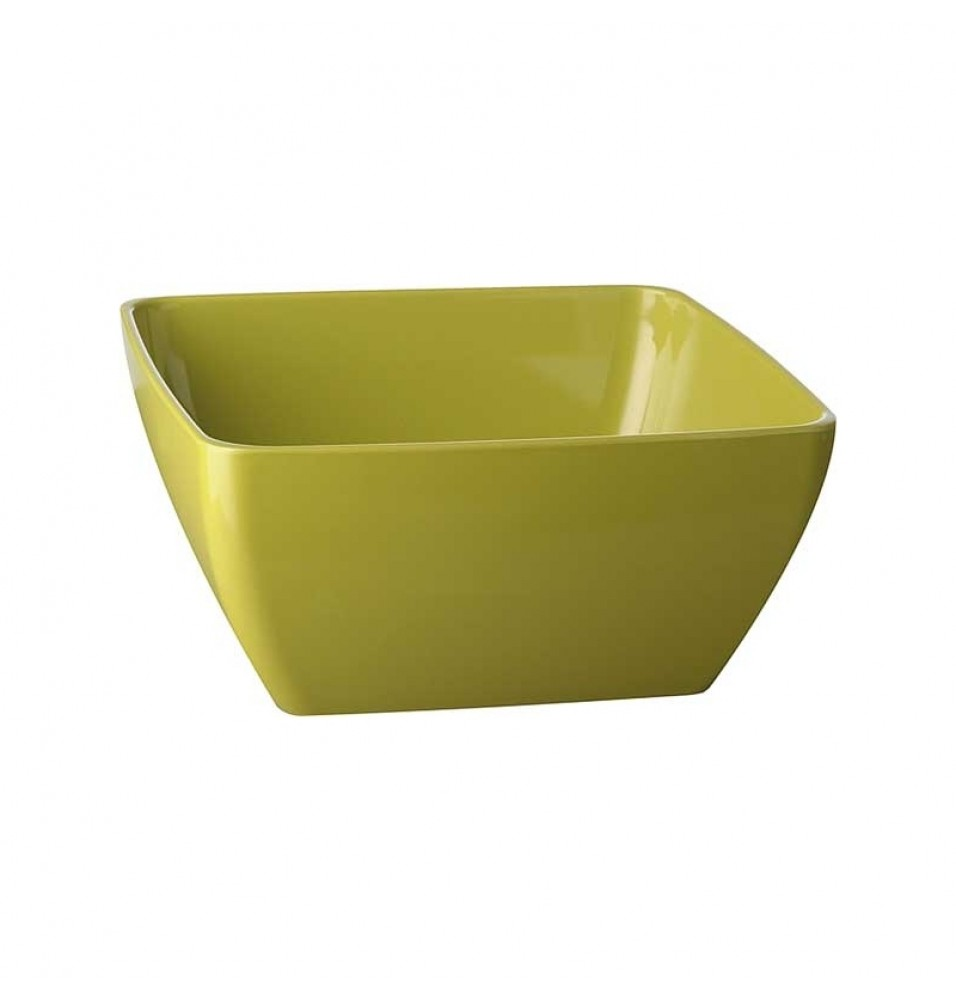 Castron, patrat, dimensiuni 90x90 mm, verde