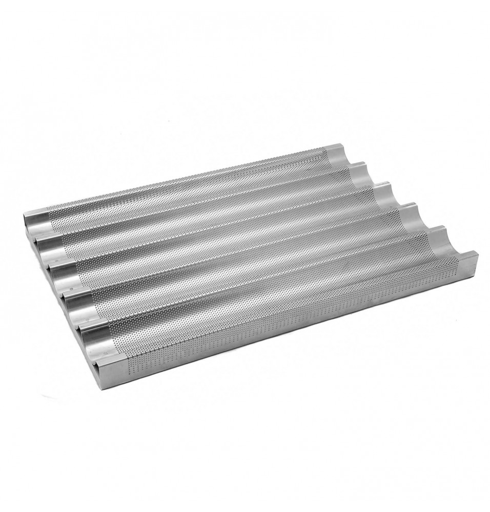 Tava perforata pentru baghete, aluminiu