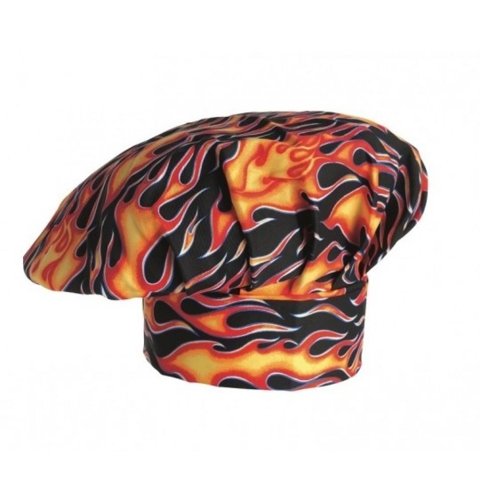 Toca bucatar -model Flames, 100% bumbac