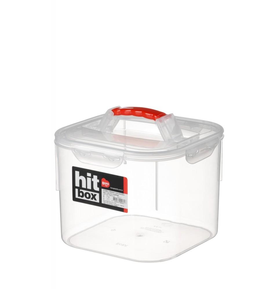 Cutie depozitare cu capac, capacitate 6.6 litri
