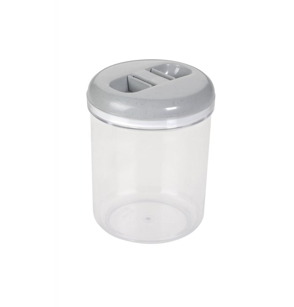Caserola depozitare cu capac, capacitate 2 litri