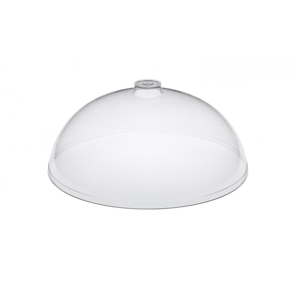 Capac tip cupola, transparent, diametru 300mm