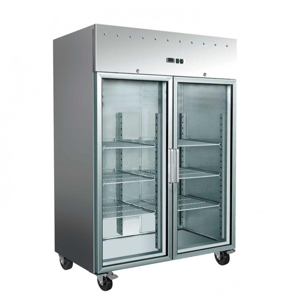 Dulap frigorific, usi din sticla, capacitate 1476 litri, dimensiuni 1480x830x2010mm