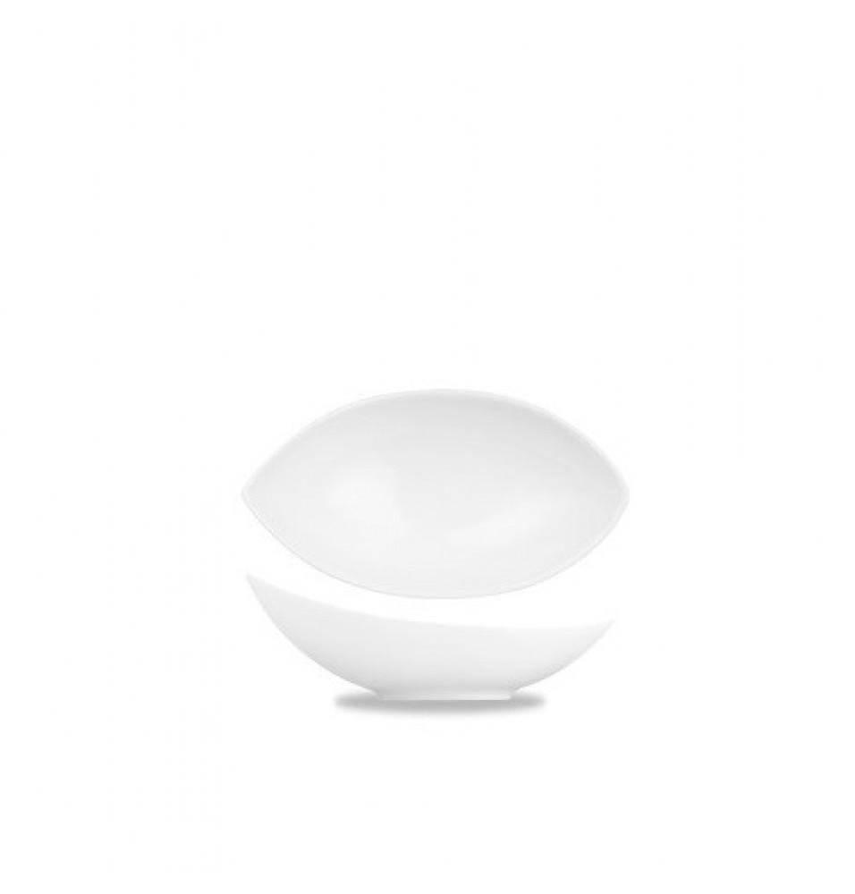 Vas ceramica, forma lacrima, culoare alba, capacitate 340ml