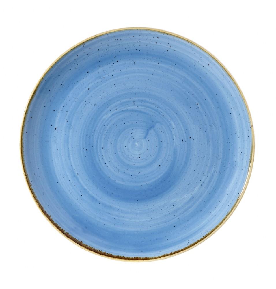 Farfurie intinsa rotunda Cornflower Blue