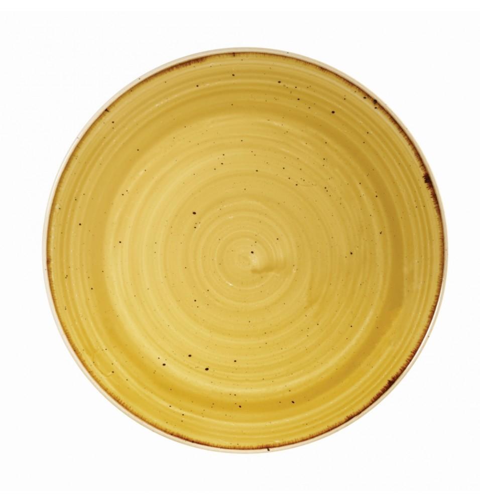 Farfurie rotunda Mustard Seed Yellow