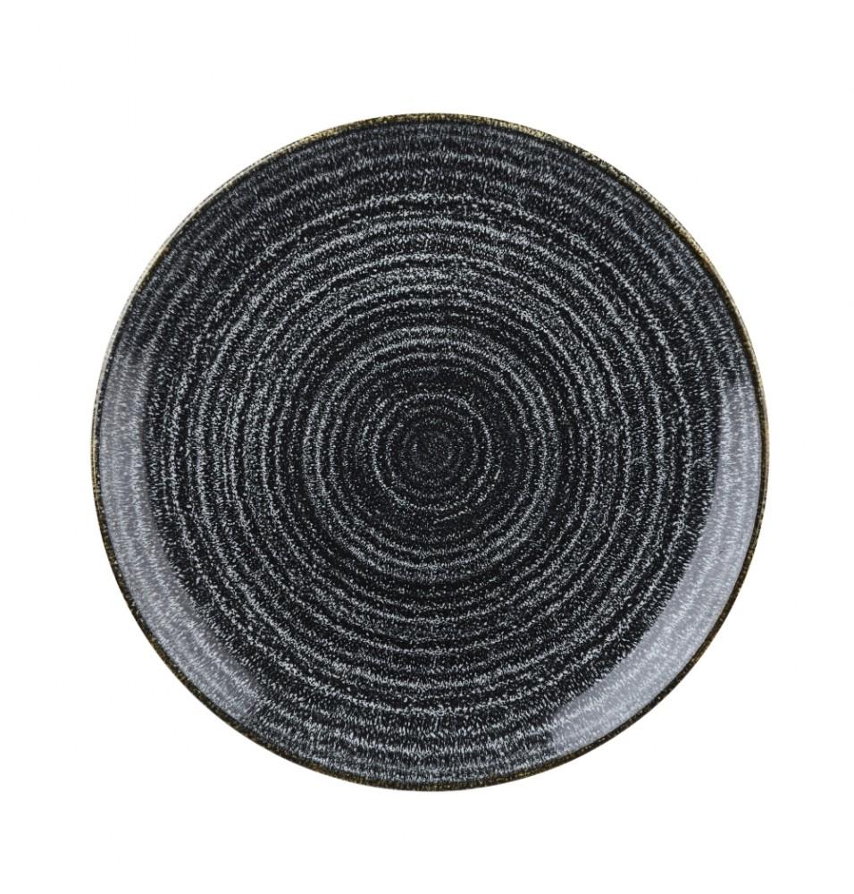 Farfurie rotunda Charcoal Black - diametru 288mm