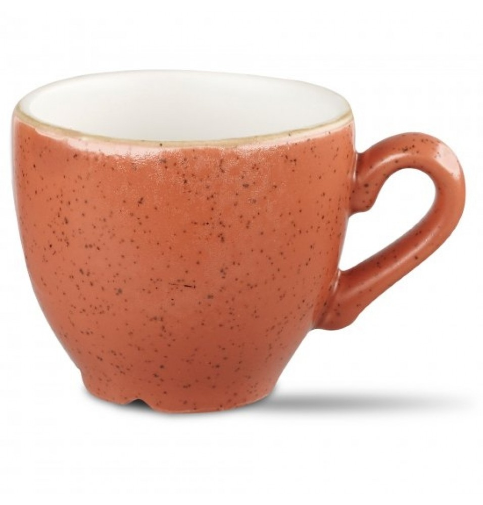 Ceasca espresso, din portelan super-vitrifiat de culoare Spiced Orange, capacitate 10cl