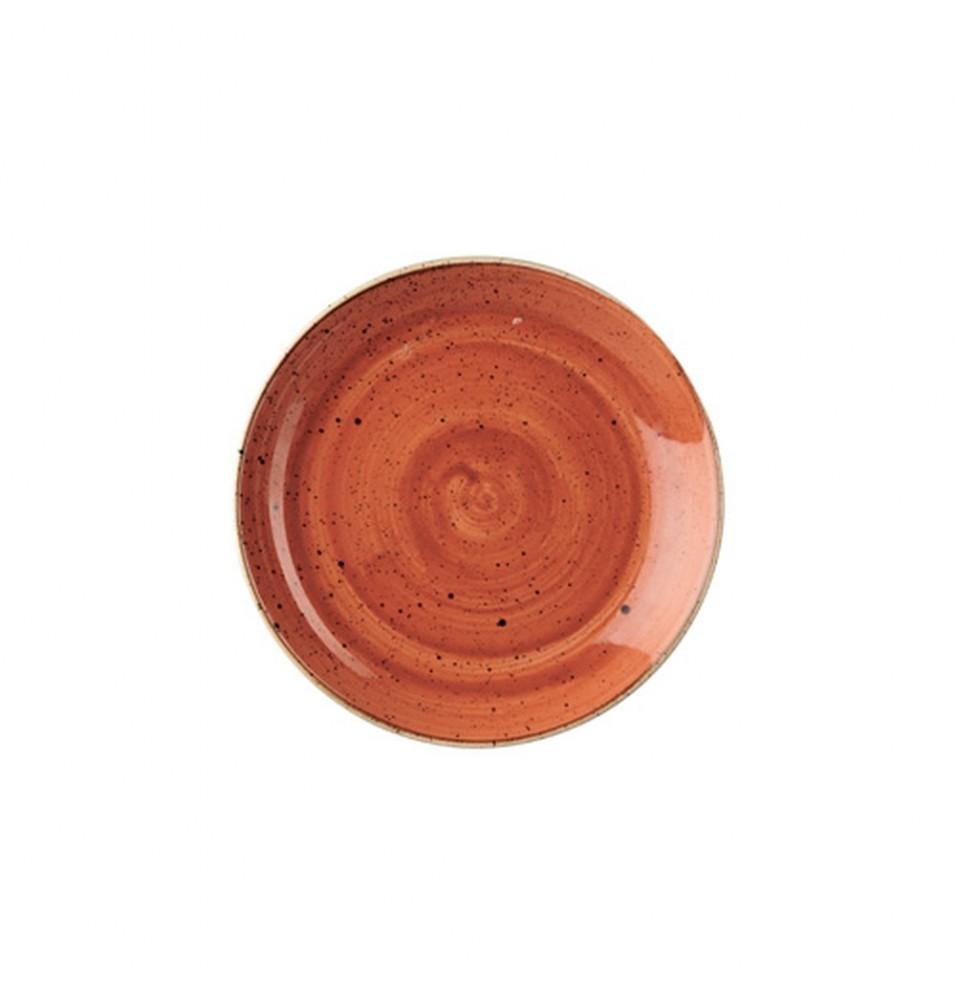 Farfurie rotunda Spiced Orange - diametru 217mm