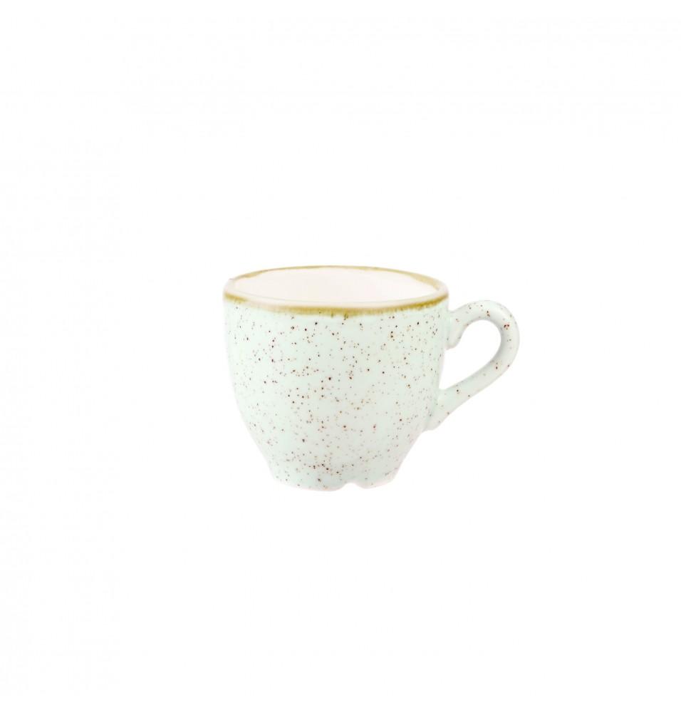 Ceasca espresso, portelan super-vitrifiat de culoare Barley White glazurat pe toata suprafata, capacitate 100ml