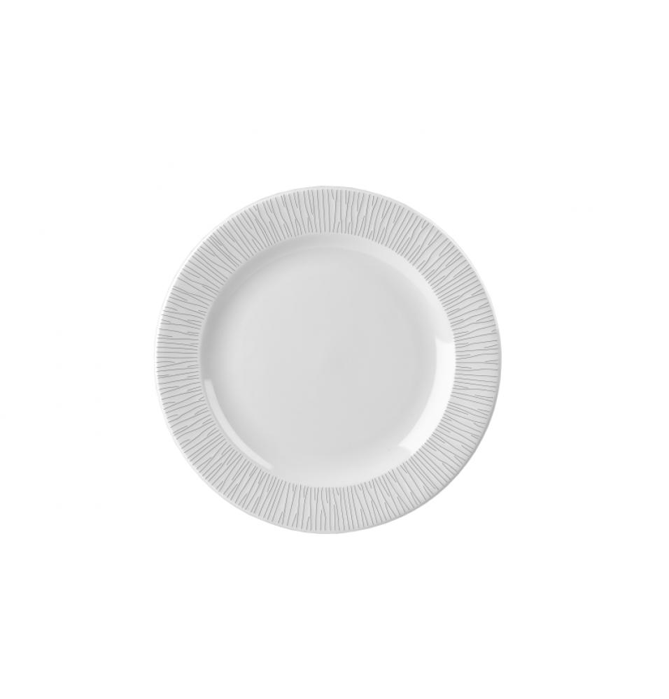 Farfurie plata rotunda, portelan, diametru 170mm