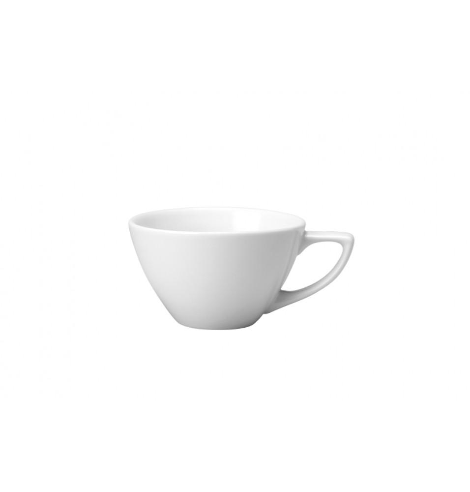 Ceasca pentru cafea, capacitate 227ml, din portelan super-vitrifiat, culoare alba