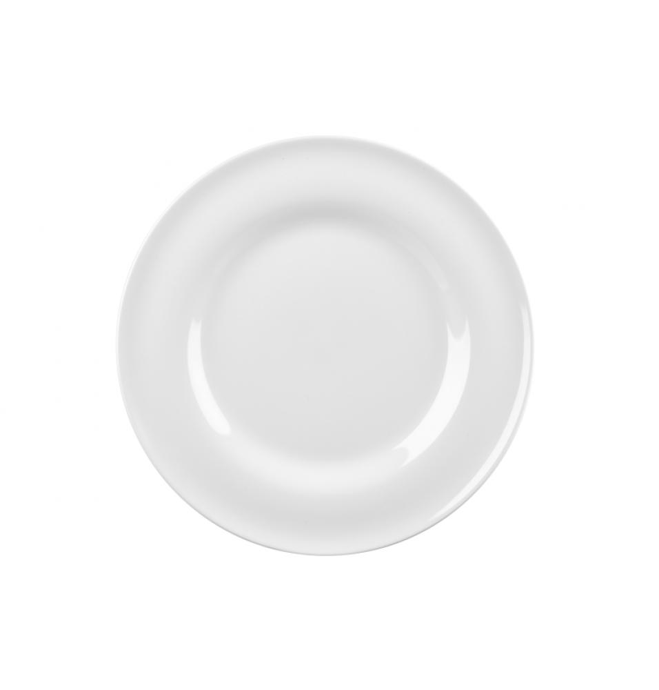 Farfurie plata rotunda, portelan, diametru 165mm