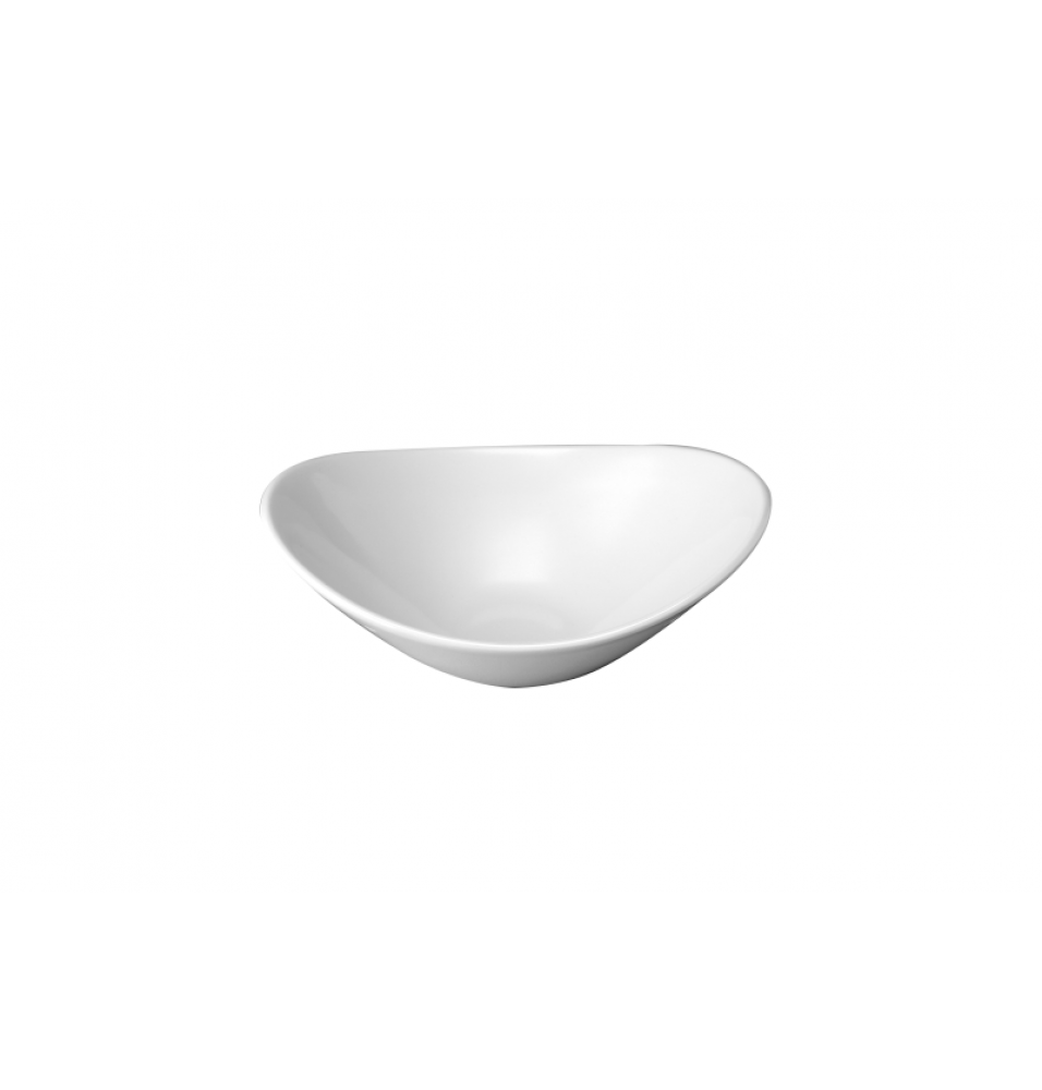 Castron oval portelan, capacitate 300 ml, dimensiuni 180x140mm