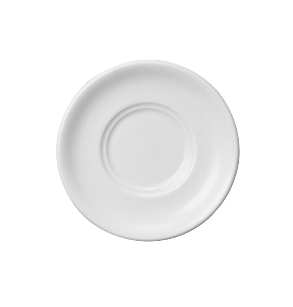 Farfurie suport pentru bolul de supa, portelan, diametru 150mm