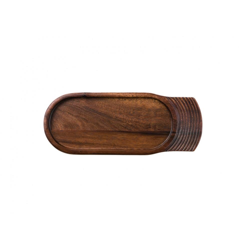 Platou suport, din lemn