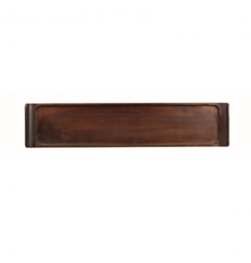 Tava dreptunghiulara din lemn de acacia, Buffwr Trays, dimensiuni 460x100mm